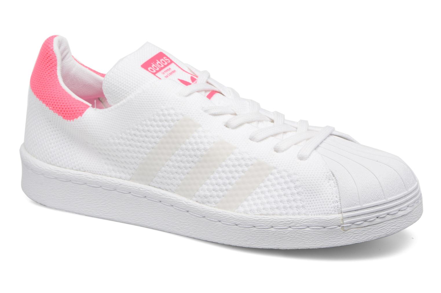 Trainers Adidas Originals Superstar 80S PK W White detailed view/ Pair view