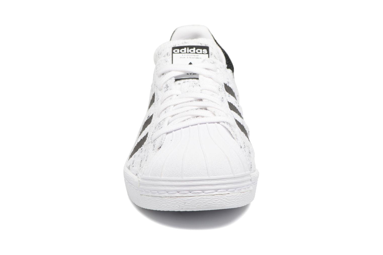 Baskets Adidas Originals Superstar 80S PK W Noir vue portées chaussures