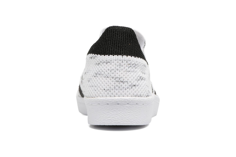 Baskets Adidas Originals Superstar 80S PK W Noir vue droite