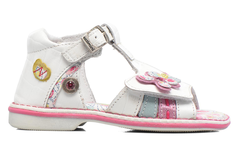 Sandales et nu-pieds Catimini Cicadelle Blanc vue derrière
