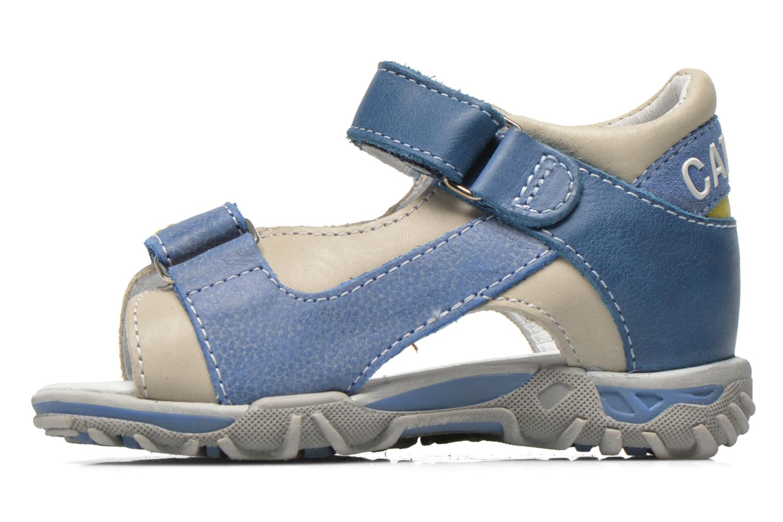 Sandals Catimini Capucin Blue front view