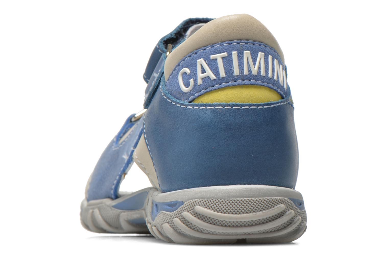 Sandalen Catimini Capucin blau ansicht von rechts