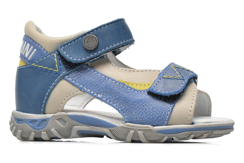 Sandals Catimini Capucin Blue back view