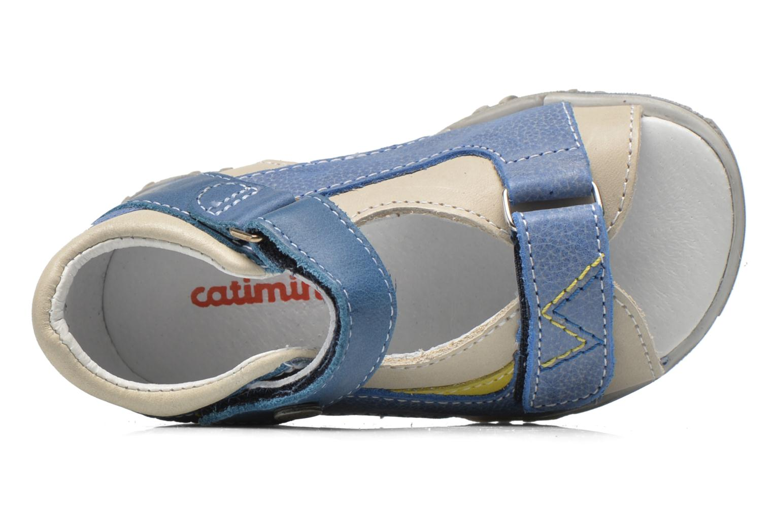 Sandals Catimini Capucin Blue view from the left