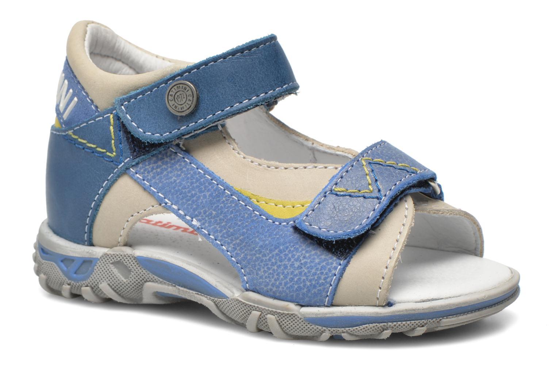 Sandals Catimini Capucin Blue detailed view/ Pair view