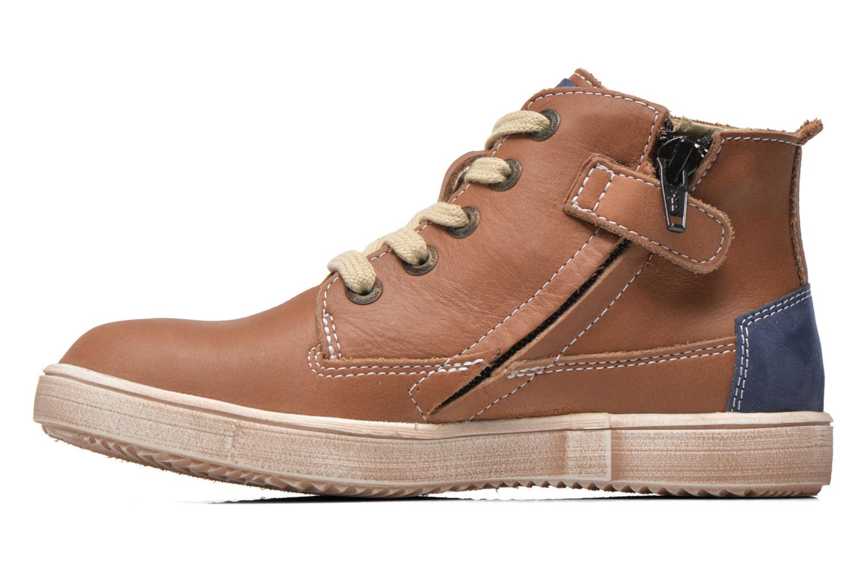 Sneaker Catimini Couto braun ansicht von vorne