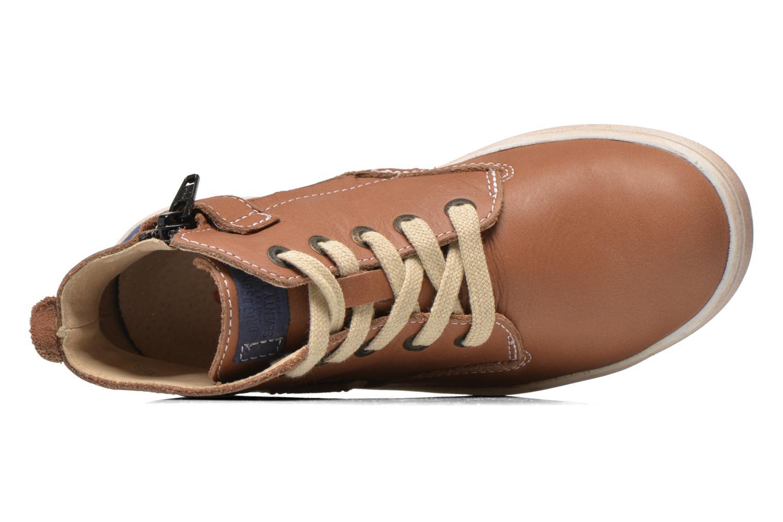 Sneaker Catimini Couto braun ansicht von links