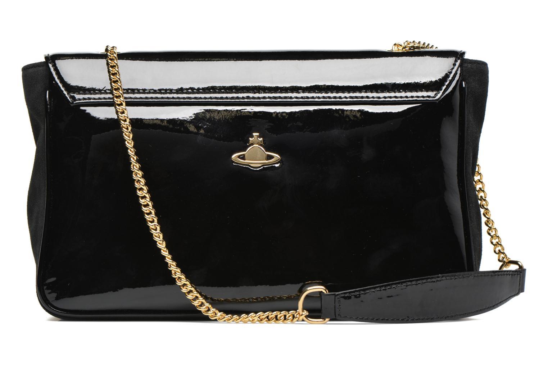 Handtaschen Vivienne Westwood MIRROR BALL Shoulder bag schwarz ansicht von vorne
