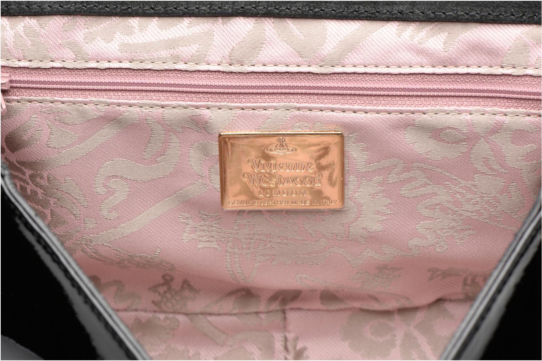 Handtaschen Vivienne Westwood MIRROR BALL Shoulder bag schwarz ansicht von hinten
