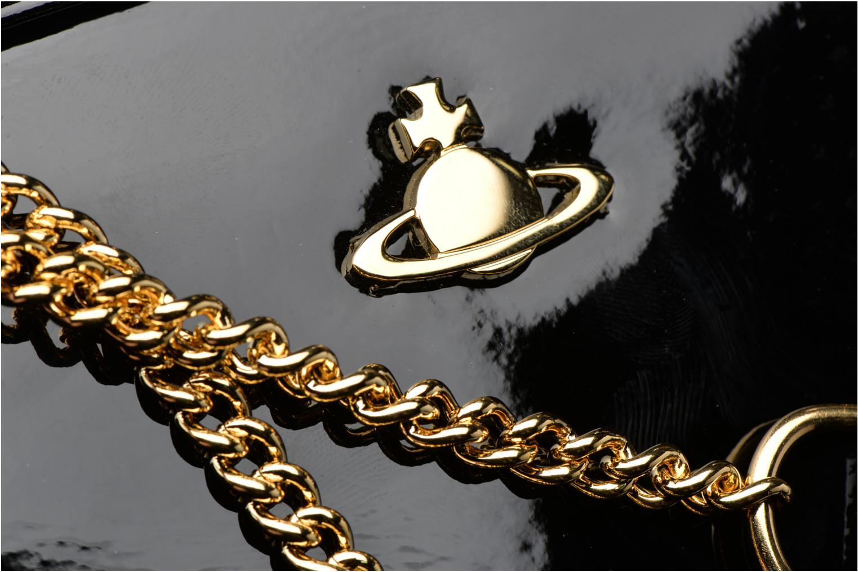 Handtaschen Vivienne Westwood MIRROR BALL Shoulder bag schwarz ansicht von links