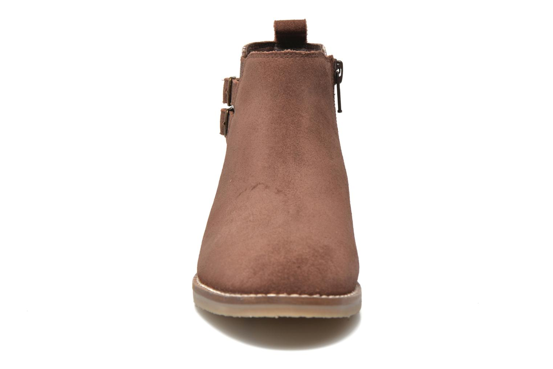 Bottines et boots I Love Shoes KELINE Leather Rose vue portées chaussures