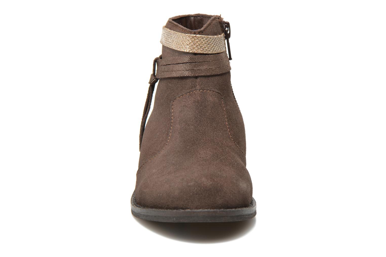 Botines  I Love Shoes KEPHYRS Leather Marrón vista del modelo