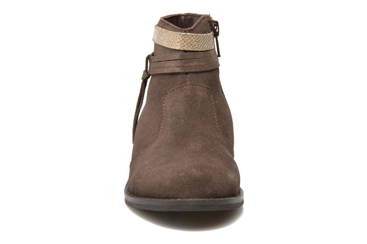 Ankle boots I Love Shoes KEPHYRS Leather Brown model view