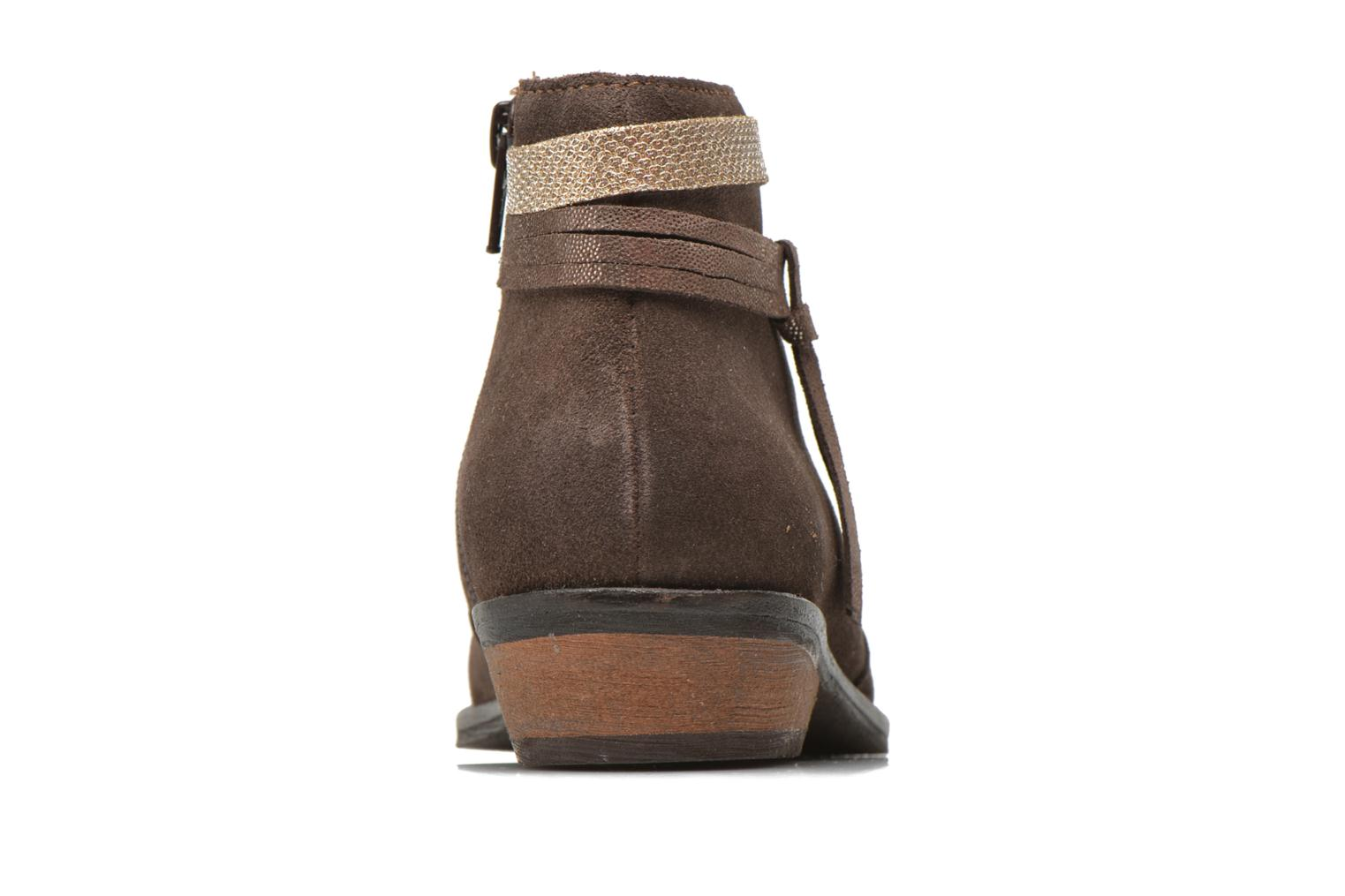 Ankle boots I Love Shoes KEPHYRS Leather Brown view from the right