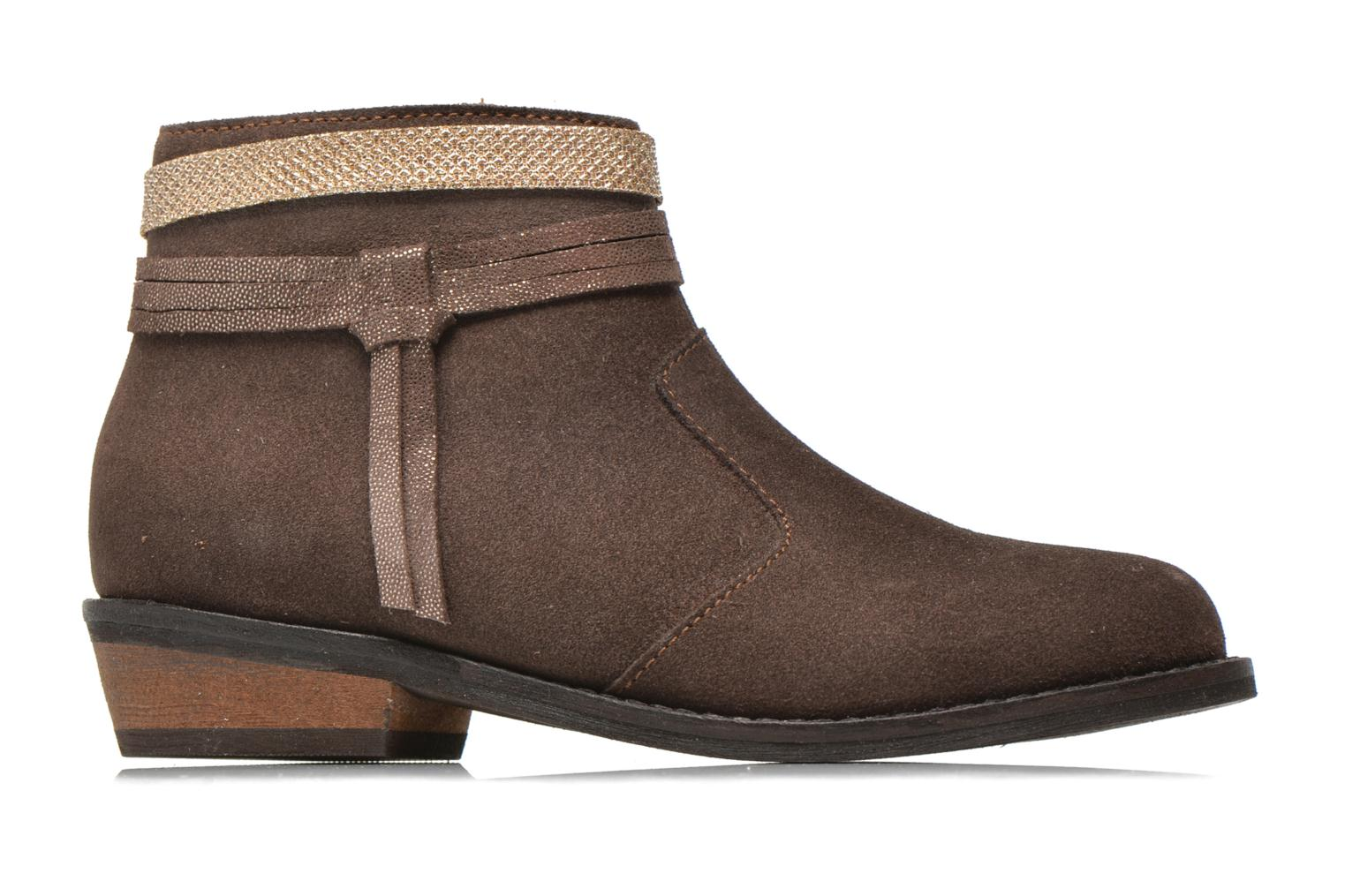 Ankle boots I Love Shoes KEPHYRS Leather Brown back view