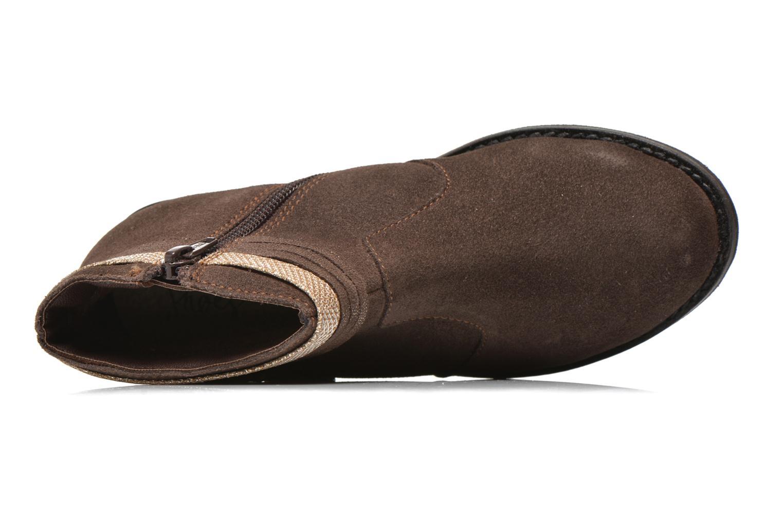 Stivaletti e tronchetti I Love Shoes KEPHYRS Leather Marrone immagine sinistra