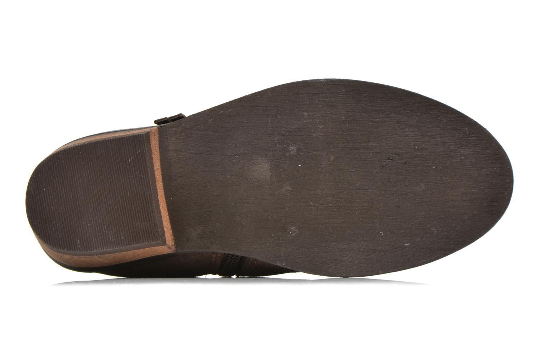 Stivaletti e tronchetti I Love Shoes KEPHYRS Leather Marrone immagine dall'alto