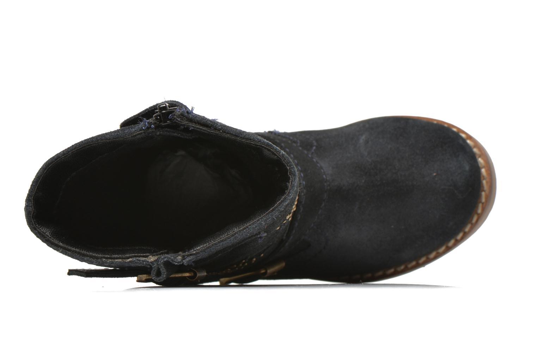 Bottes I Love Shoes KEIRINS Bleu vue gauche