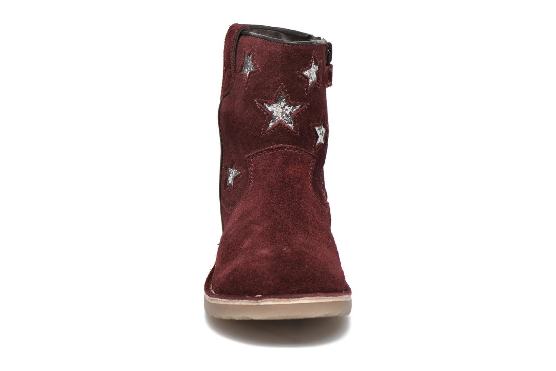 Boots en enkellaarsjes I Love Shoes KETMIES Leather Bordeaux model