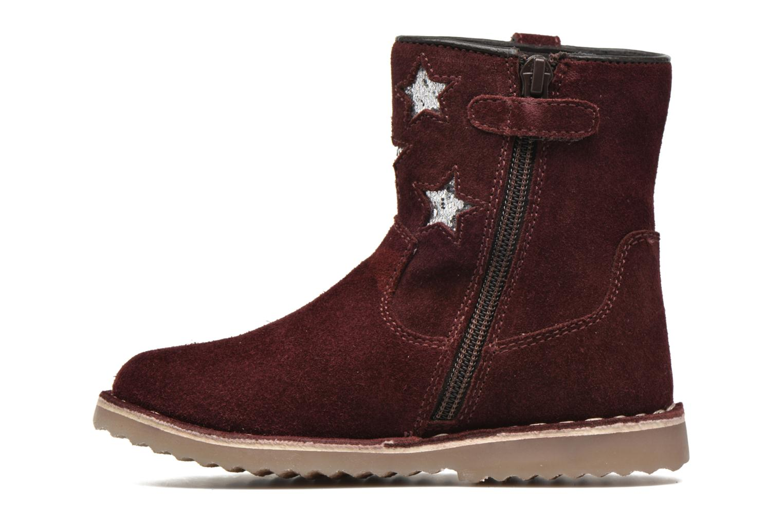 Ankle boots I Love Shoes KETMIES Leather Burgundy front view