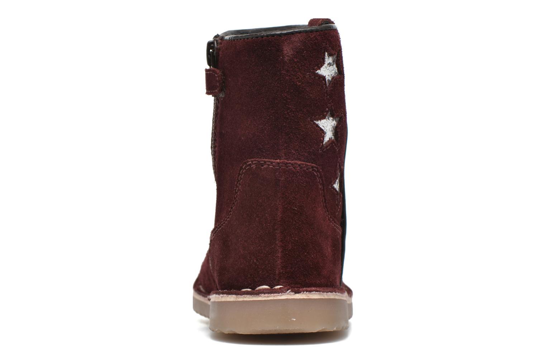 Boots I Love Shoes KETMIES Leather Vinröd Bild från höger sidan
