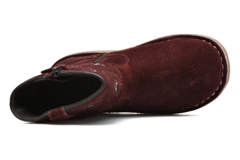Stivaletti e tronchetti I Love Shoes KETMIES Leather Bordò immagine sinistra