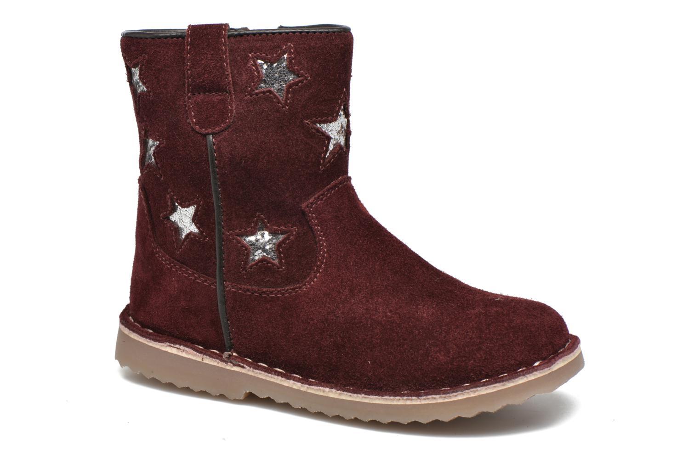 Boots I Love Shoes KETMIES Leather Vinröd detaljerad bild på paret