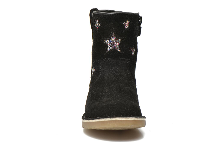 KETMIES Leather noir glitter silver