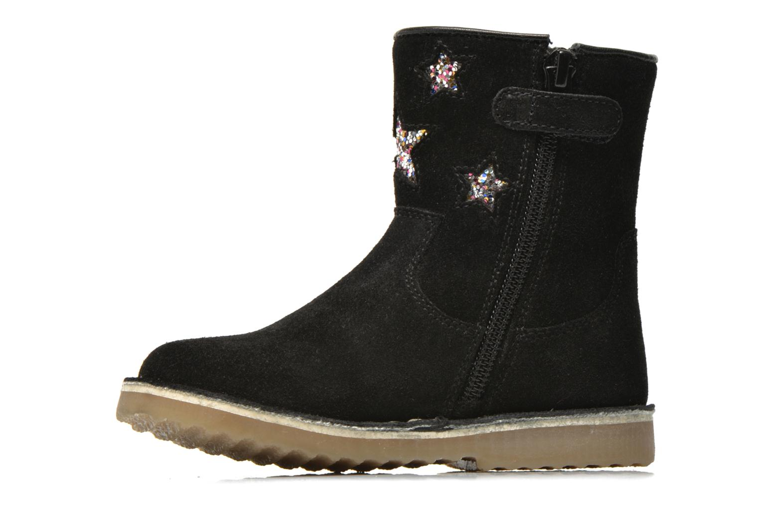 Ankle boots I Love Shoes KETMIES Leather Black front view