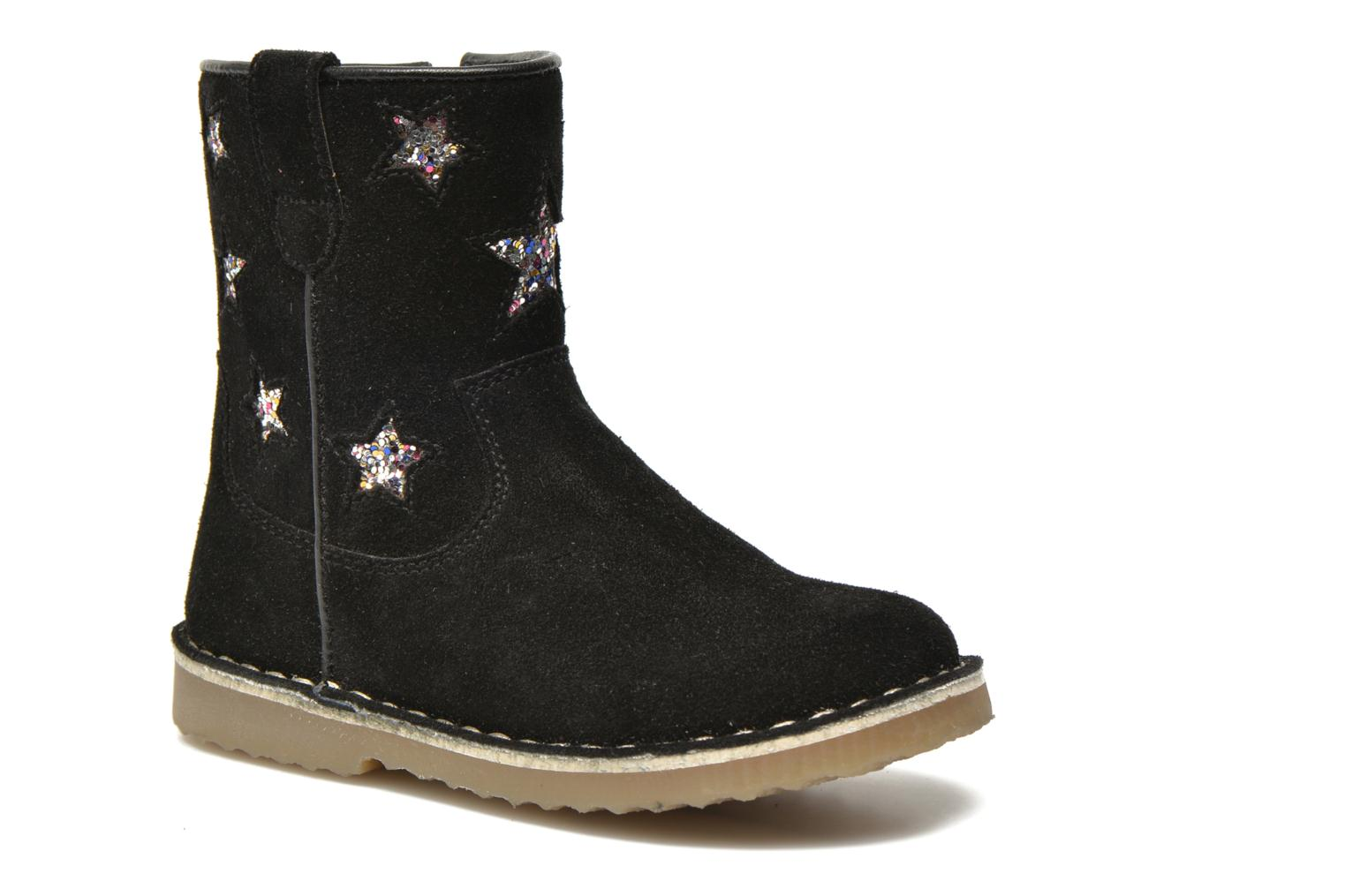 Ankle boots I Love Shoes KETMIES Leather Black detailed view/ Pair view