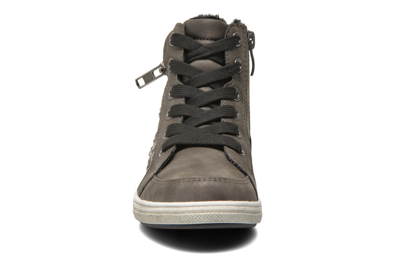 Baskets I Love Shoes SUSKAT Gris vue portées chaussures