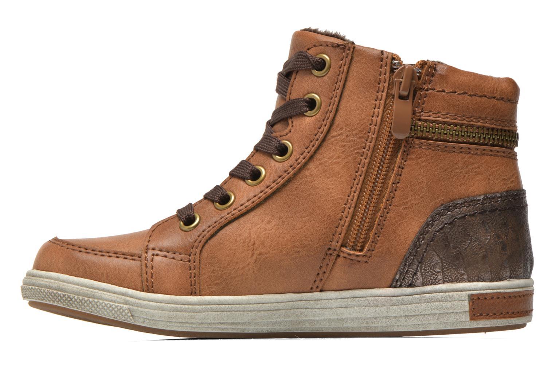 Baskets I Love Shoes SUSKAT Marron vue face