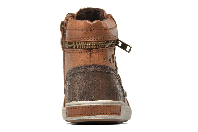 Sneaker I Love Shoes SUSKAT braun ansicht von rechts
