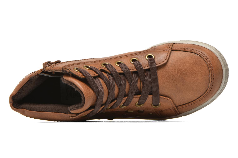Baskets I Love Shoes SUSKAT Marron vue gauche