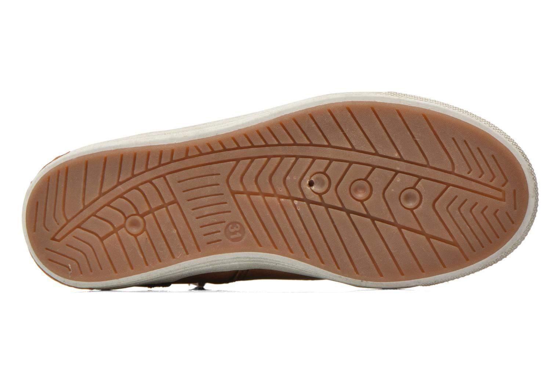Sneaker I Love Shoes SUSKAT braun ansicht von oben