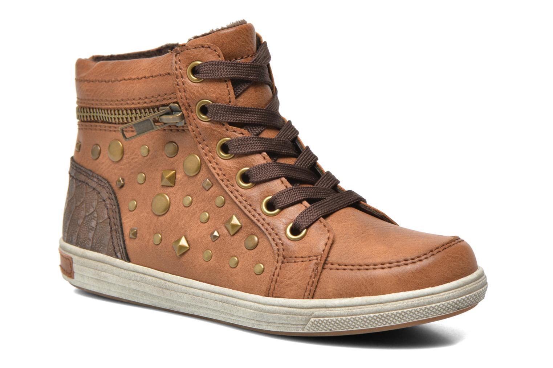 Baskets I Love Shoes SUSKAT Marron vue détail/paire