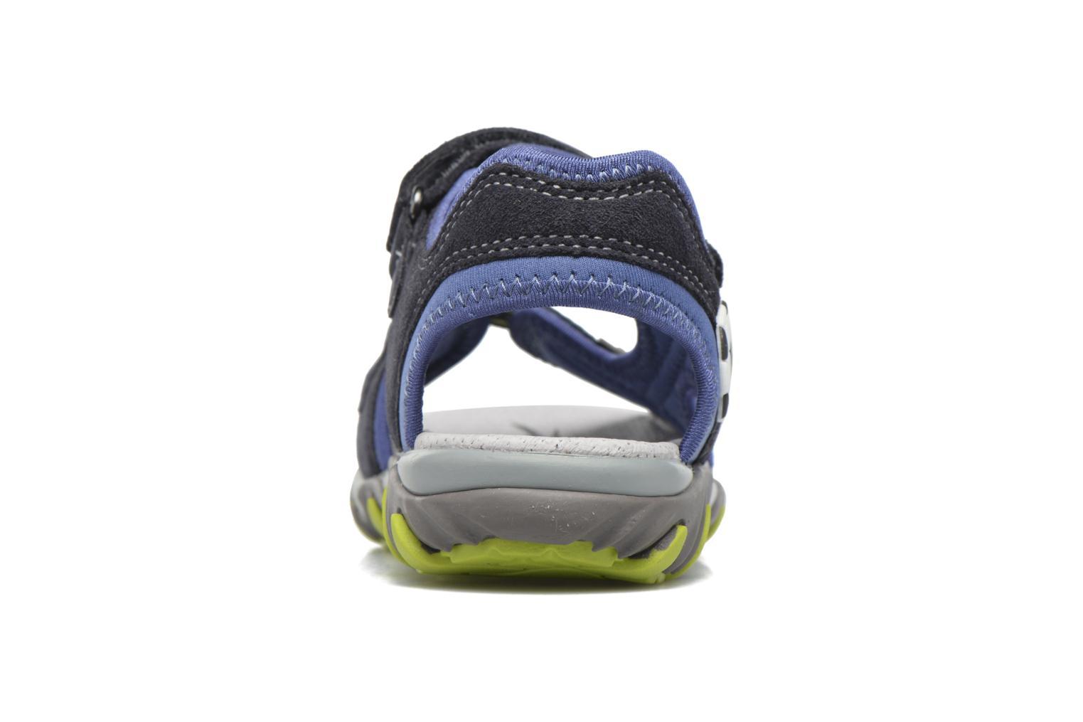 Sandals Superfit Mike 2 Blue view from the right