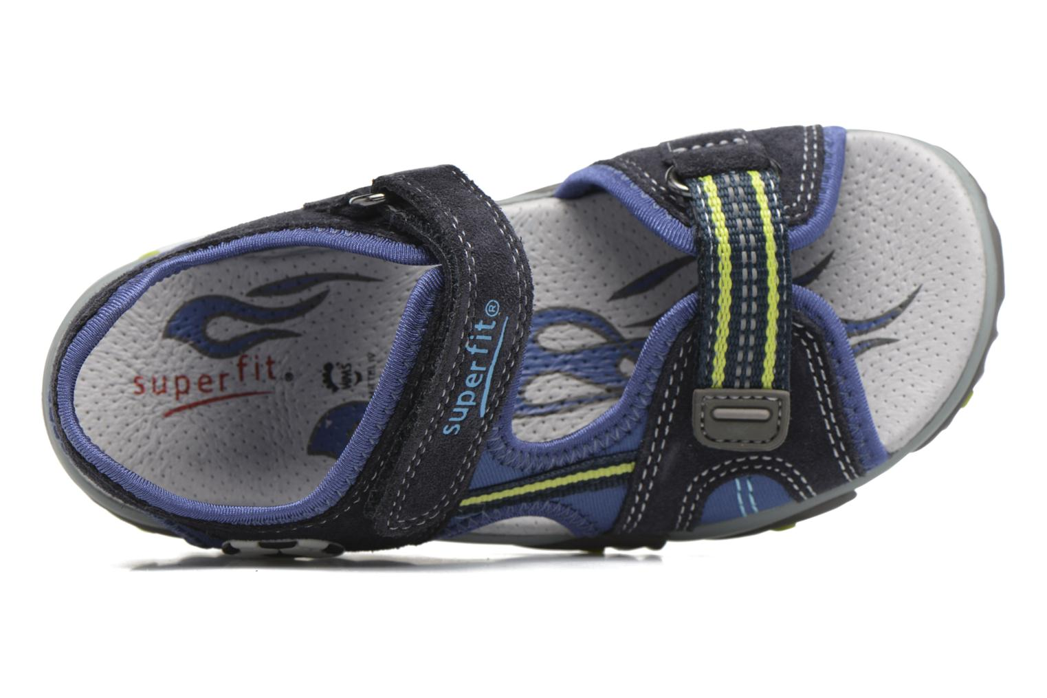 Sandals Superfit Mike 2 Blue view from the left