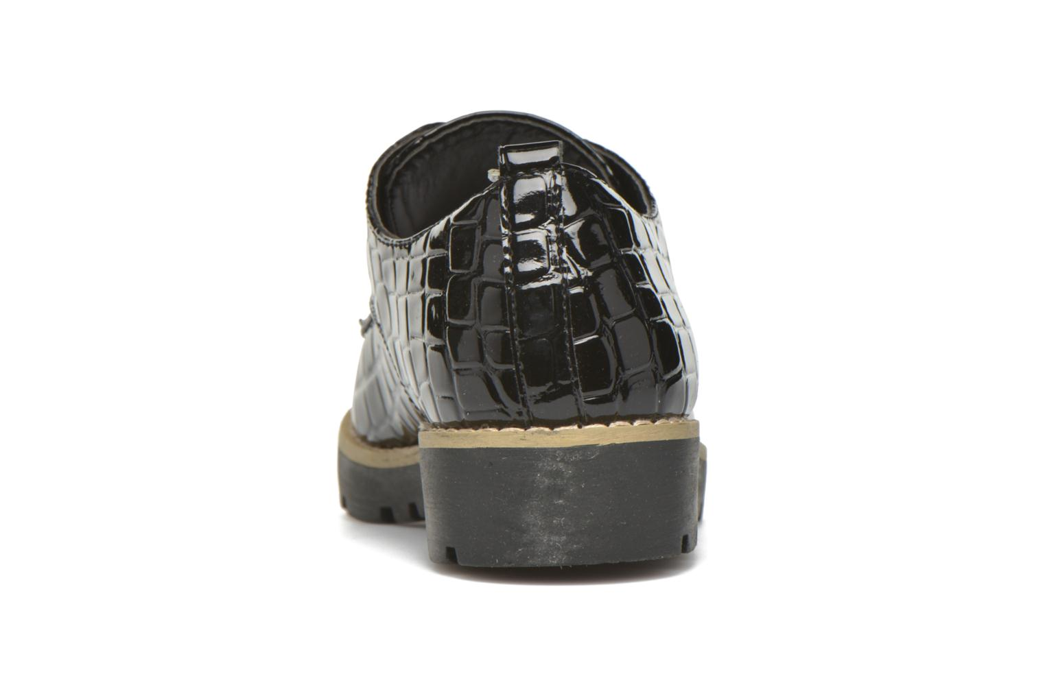 Zapatos con cordones I Love Shoes Thada Negro vista lateral derecha
