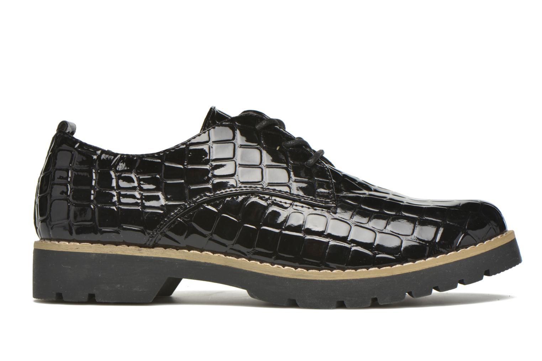 Chaussures à lacets I Love Shoes Thada Noir vue derrière