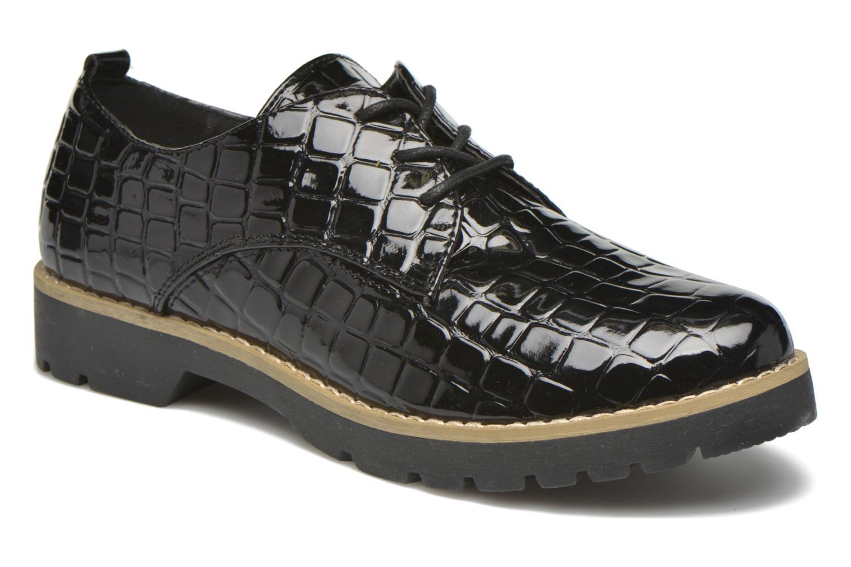 Thada Black Croco Patent