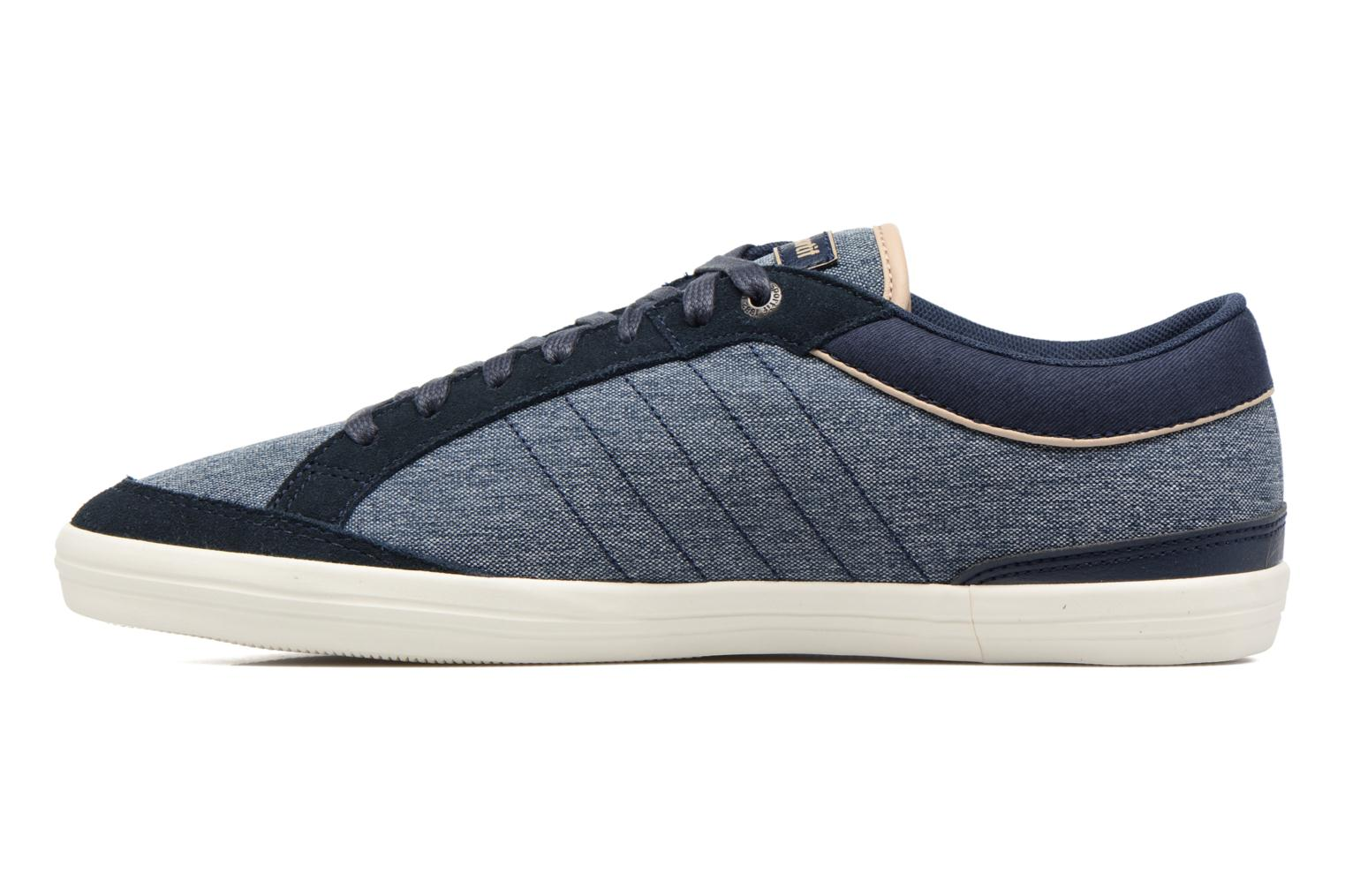 Feretcraft 2Tones/Suede Dress Blue/Sesame