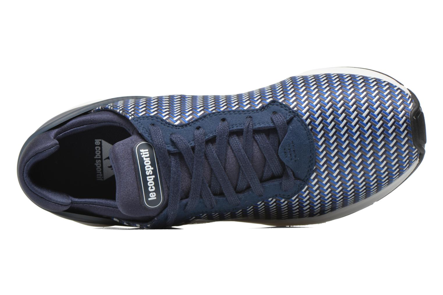 Trainers Le Coq Sportif Lcs R Xvi Geo Jacquard Blue view from the left