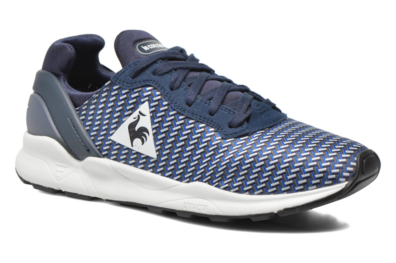Trainers Le Coq Sportif Lcs R Xvi Geo Jacquard Blue detailed view/ Pair view