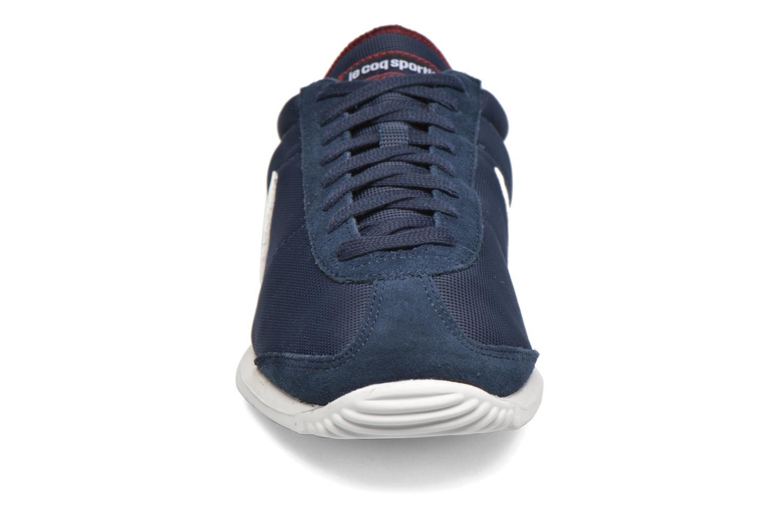 Baskets Le Coq Sportif Quartz Nylon Bleu vue portées chaussures