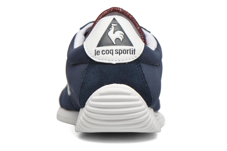 Baskets Le Coq Sportif Quartz Nylon Bleu vue droite