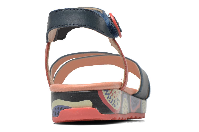 Sandales et nu-pieds Camper Pinya Kids Bleu vue droite