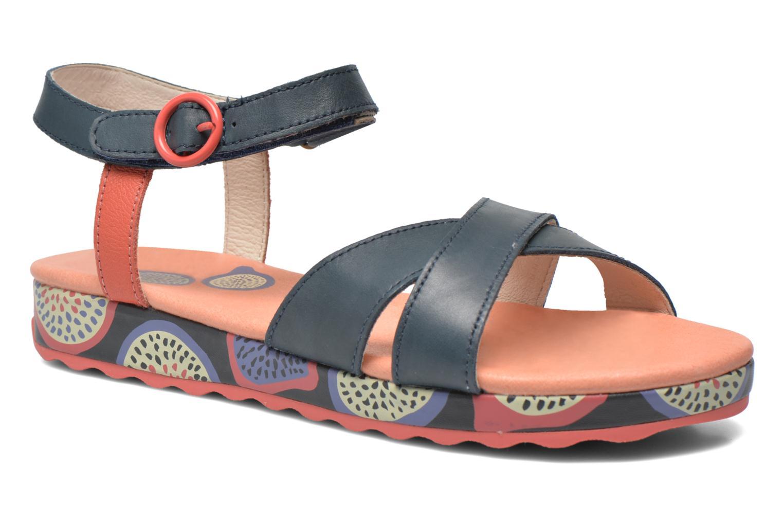 Sandales et nu-pieds Camper Pinya Kids Bleu vue détail/paire