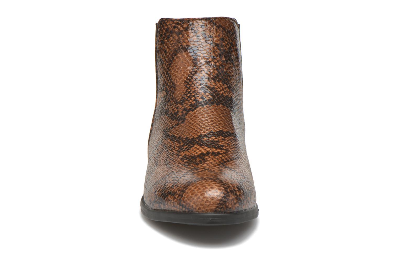 Bottines et boots I Love Shoes VYMSE Marron vue portées chaussures