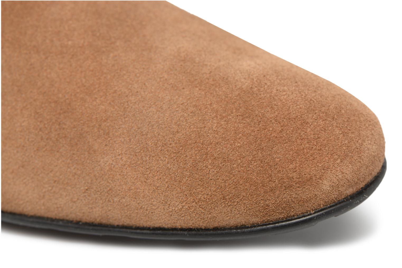 Scarpe con lacci Mr SARENZA Nathy Marrone immagine sinistra